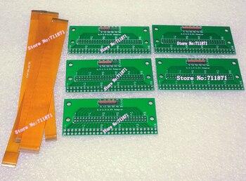 De 0,3 a 2,0, 2,54 paso 25 31 39 45 51 Pin FPC adaptador DIP conector 12cm 0,3 paso 25P 31 39Pin 45P 51 P FFC FPC Cable de línea