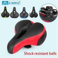 Bike Saddle Shock Resistant Seat For Bicycle MTB Thicken Waterproof Bicycle Parts Road Bike Seat Shock