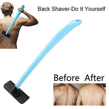 High Quality Manual Back Hair Shaver Long Handle Extra Wide Blade Design Remover Body Trimmer Razor Self Groomer Shaving Hair Health & Beauty