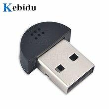kebidu High Quality Super Mini USB 2.0 Microphone MIC Audio Adapter Driver Free Online