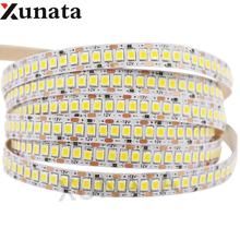 Super Bright 2835 LED Strip 1200Leds Led Light 5m DC12V Non Waterproof Rope 24V 240Leds/m Neon Ribbon Home Decor