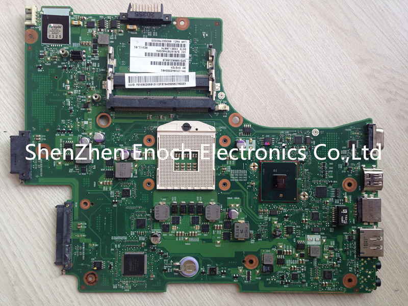 V000218010 for toshiba satellite L655 L650 motherboard 6050A2332401-MB-A03 with HDMI interface,intel HD graphic stock No.396