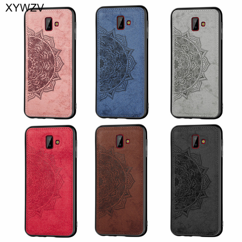 Image 5 - For Samsung Galaxy J6 Plus Case Shockproof Soft Silicone Luxury Cloth Texture Case For Samsung J6 Plus Cover For Samsung J6+-in Fitted Cases from Cellphones & Telecommunications
