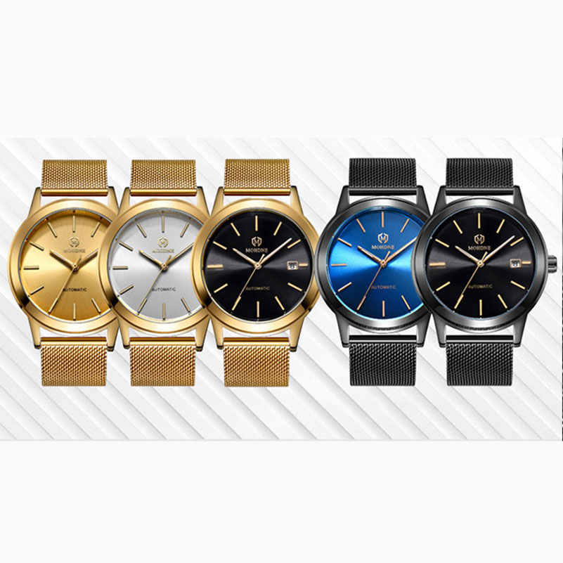 Mens Watches Top Brand Luxury Automatic Mechanical Watch Waterproof Men's Business Full Steel Business Relogio Masculino ailang mens watches top brand luxury automatic mechanical watch men full steel business waterproof watches relogio masculino