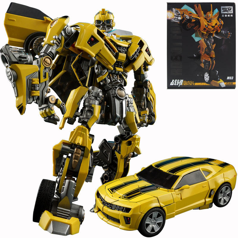 Weijiang Alloy Version Bumblebee Robot Model Figures Deform Deformation Cars Assembled Action Toys Boy Kids Children GiftWeijiang Alloy Version Bumblebee Robot Model Figures Deform Deformation Cars Assembled Action Toys Boy Kids Children Gift