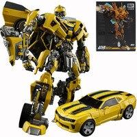 Weijiang Alloy Version Bumblebee Robot Model Figures Deform Deformation Cars Assembled Action Toys Boy Kids Children Gift