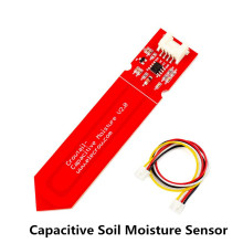 Elecrow 2 шт./лот емкостный датчик влажности почвы для Arduino влажность почвы Емкостное измерение для смарт полива набор для установки