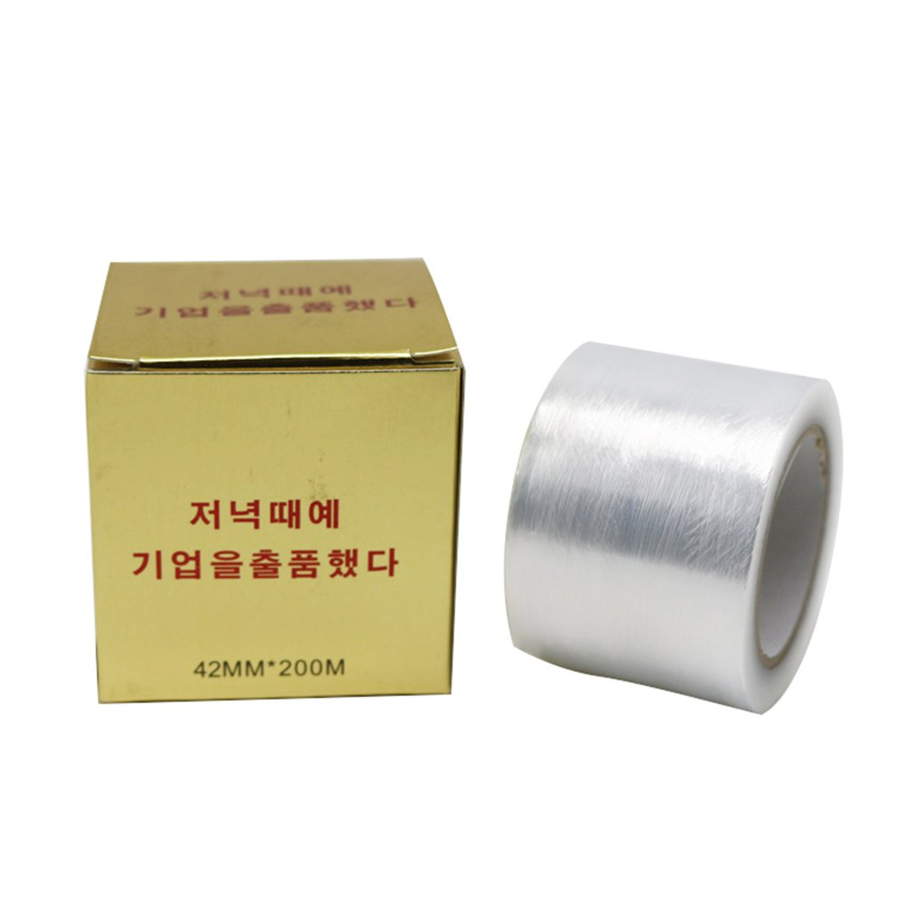 Microblading Plastic Wraps 42mm*200M Preservative Film Eyebrow Lip Tattoo Mask Cover Permanent Makeup Accessories