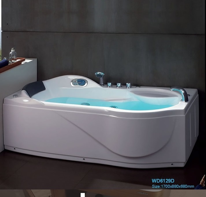 Right / Left Skirt Fiber glass Acrylic whirlpool bathtub ...
