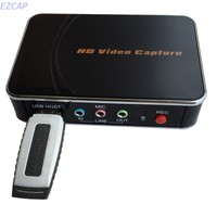 HD Game Video Capture card,1080P HDMI YPBPR Recorder For XBOX One/360 PS3 /PS4 with One Click No PC Enquired No Any Set up
