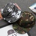 Moda de nova Mens Camuflagem Hip Hop Boné de Beisebol Casuais Tampas Bones Gorras Sombrero Para Mulheres Dos Homens Snapbacks Chapéus Camo Plana
