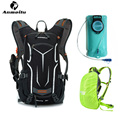 ANMEILU Sports Water Bags + Rain Cover 2016 Men Women Mochila hidratacion Hydration Bladder Cycling Backpack Camelback Eastpack