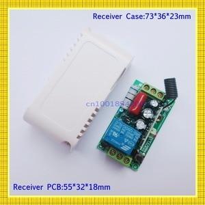 Image 5 - 220 V AC 10A รีเลย์ตัวรับสัญญาณ LED รีโมทคอนโทรลไร้สาย ON OFF สวิทช์กุญแจล็อคปลดล็อก 315433