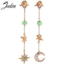 Joolim Moon Star Flower Drop Earring Dangle Summer