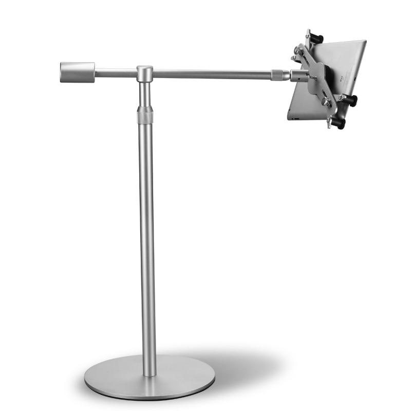universal aluminum alloy tablet pc lazy people bed floor stand height adjustable rotation bracket for ipad - Ipad Floor Stand
