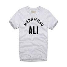 2018 New Summer Trend Men t shirt Muhammad Ali Men Cotton Fashion Camisetas T shirts Ali