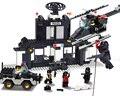 Подарок для мальчика 1 шт. пластиковые сборки головоломки модель городской бунт командный центр патрульной машины самолет дети образовательные игрушки