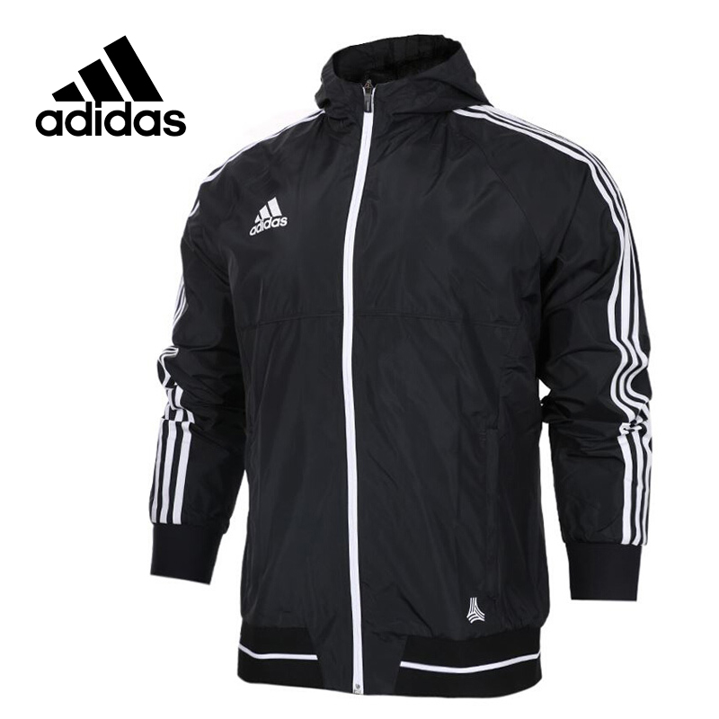 Adidas Original New Arrival Official TAN LT WOV JKT Men's Jacket Hooded Sportswear BQ4504 BQ6894 купить в Москве 2019