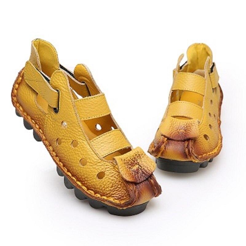 Multicolore Été 1 Et 2 Confortable Casual Couleur Beat Mode 5 Solide En Printemps Street Souple 3 6 Chaussures 2018 Creux Sauvage De Nouveau 4 tqUzwwP5