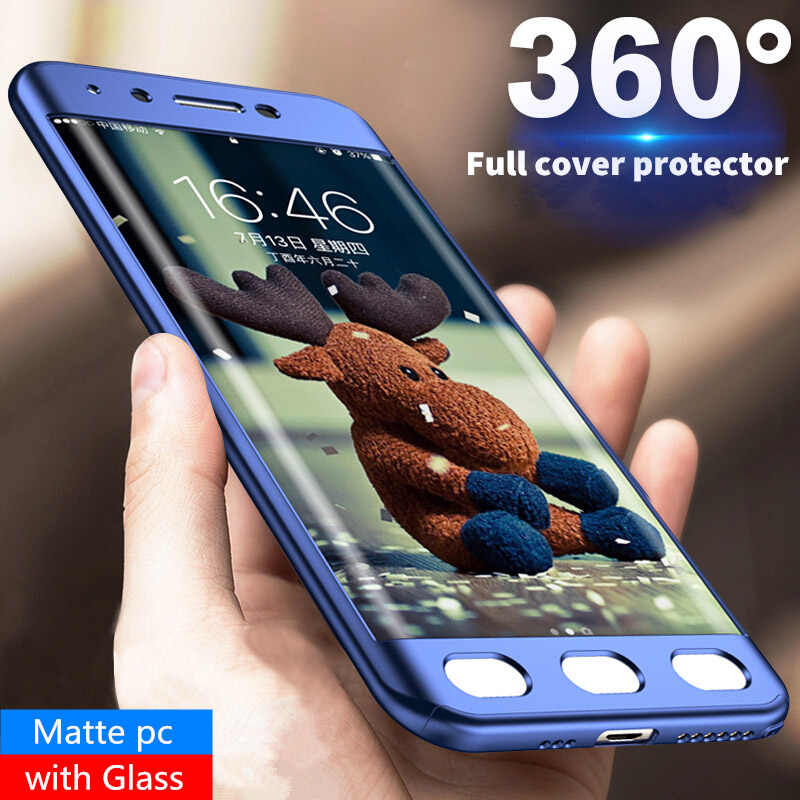 MOUSEMI Case For Samsung Galaxy j7 j5 2017 j730 Pro 360 Full Cover Protect  Glass For 09b3762b6e34