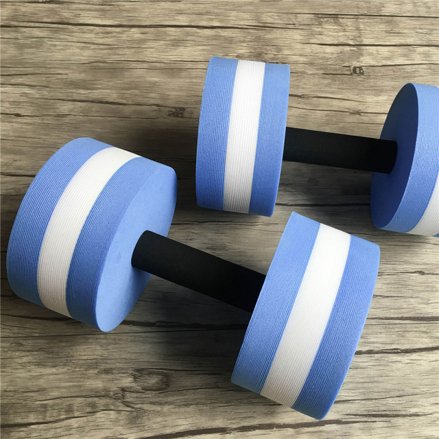 52229cbec73 1 Piece Professional Water Fitness Dumbbell Hand Weights Gym Womens Man  Pool Water Aerobics Slim Exercise Equipment