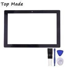 Nueva 10.1 Pulgadas para Chuwi Hi10 HSCTP-747-10.1-V0 CW1515 Tablet de Pantalla Táctil Touch Panel Digitalizador Del Sensor de Cristal de Reemplazo