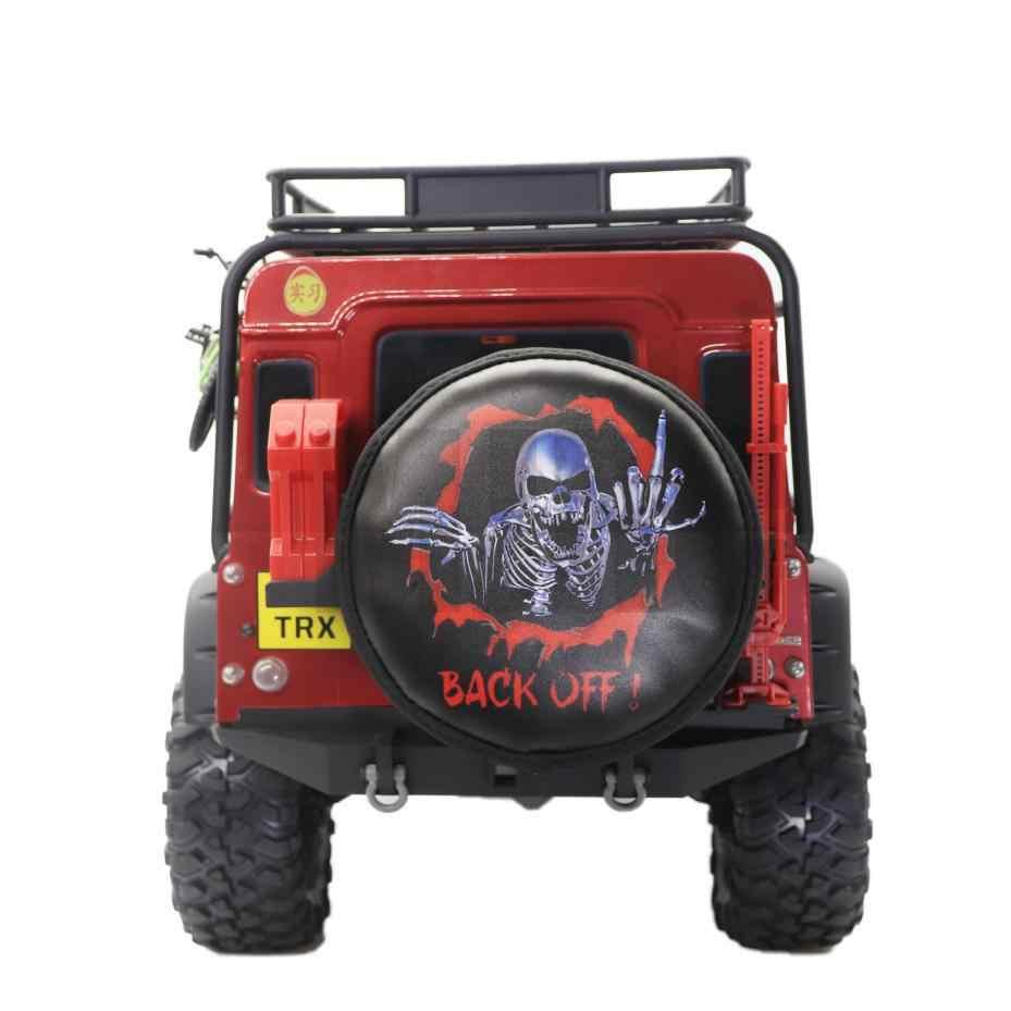 MJRCLeatherยางอะไหล่สำหรับ 1/10 RC Crawler Traxxas TRX-4 Bronco AXIAL SCX10 90046 RC4WD D90 D110