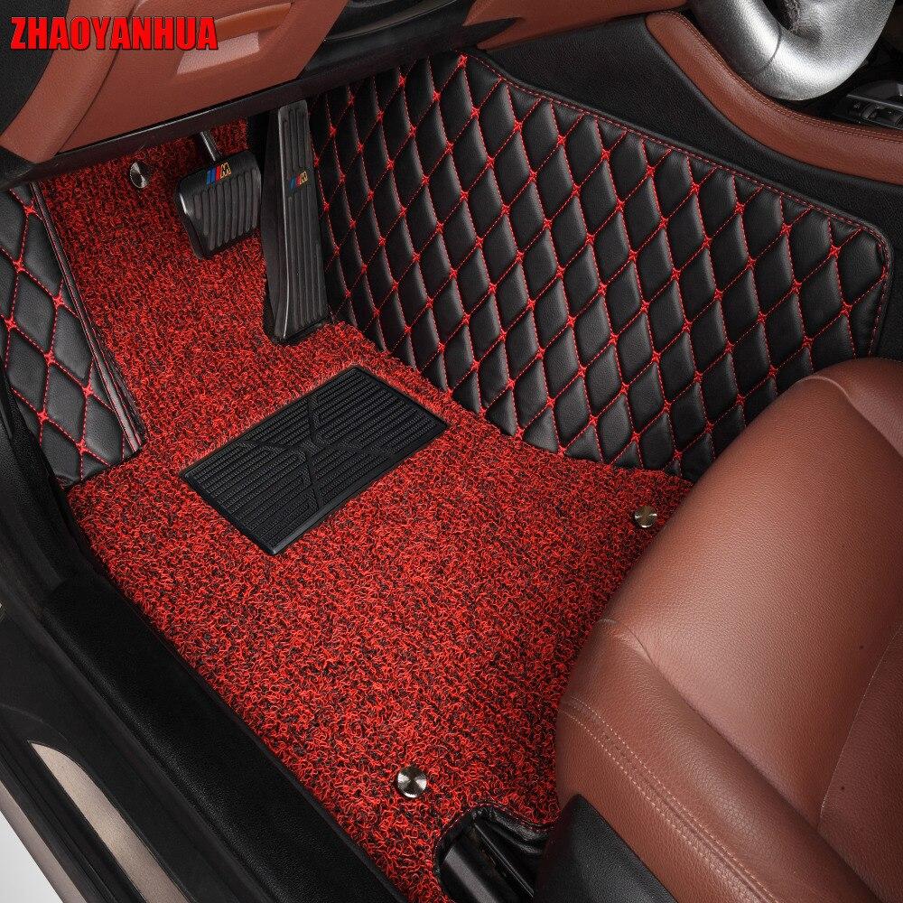 ZHAOYANHUA auto-fußmatten für BMW X6 E71 E72 F16 alle wetter fall wasserdicht 5D car styling teppiche teppich liner