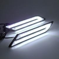 Car Styling Waterproof 33 LEDs DRL Super Bright DRL Car Daytime LED Light Universal Car Daytime