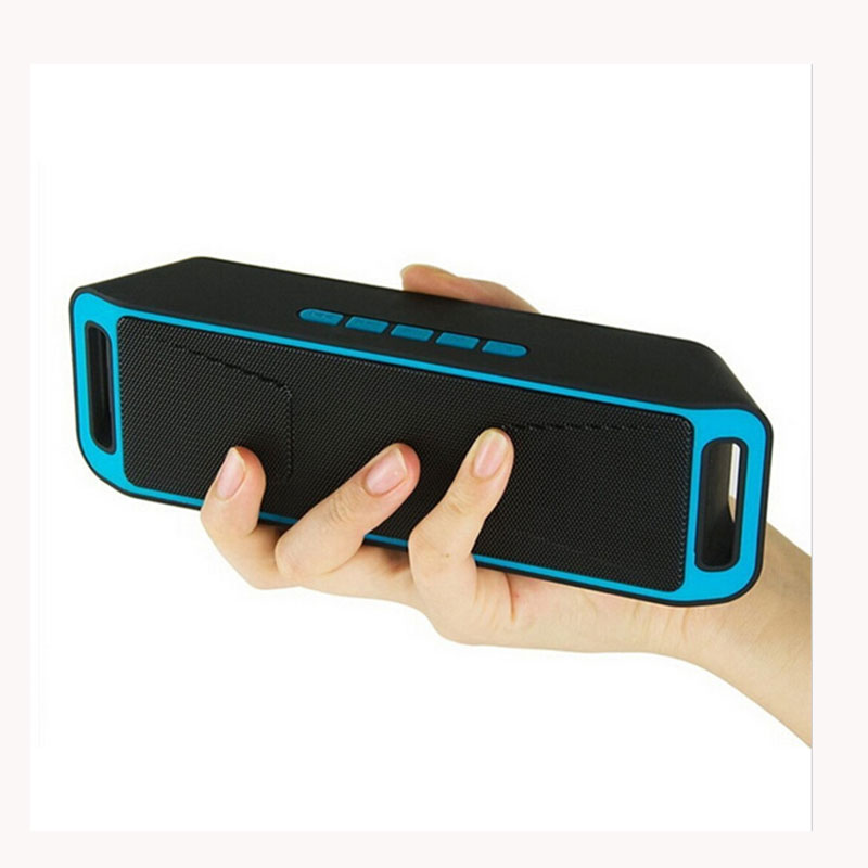 SC208 Bluetooth Speakers Wireless Portable Soundbar Support TF Card FM Radio Subwoofer Built-in Mic Stereo Bass Caixa