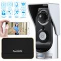 Smart WiFi Video Doorphone 720P Wireless Video Doorbell Visual Intercom System Rainproof Android IOS APP Remote Night View