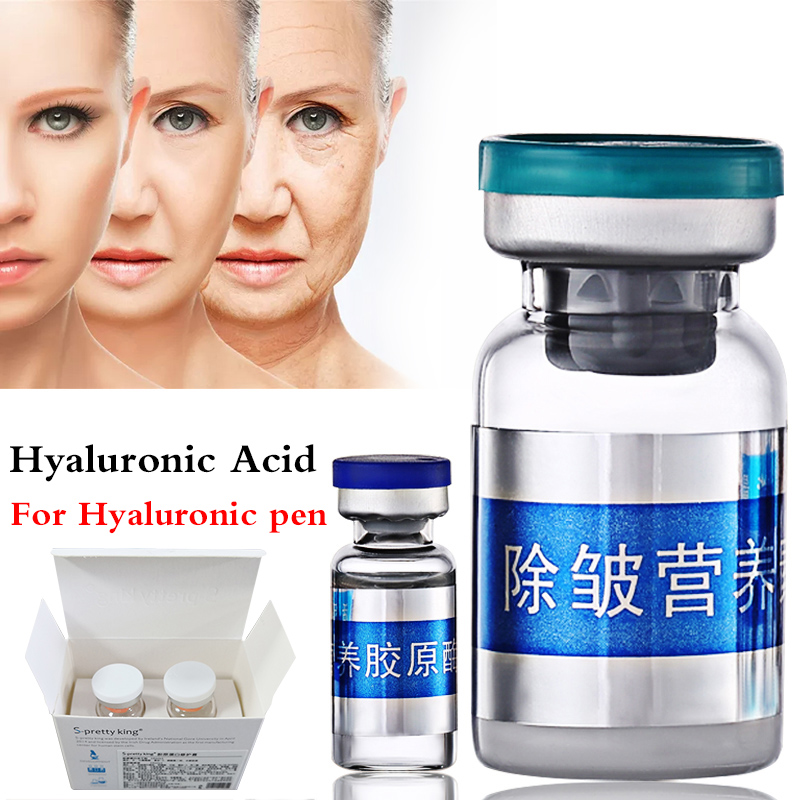 New hyaluronic acid Wrinkle removal Protein Serum for atomizer hyaluron acid pen Wrinkle whitening Anti aging