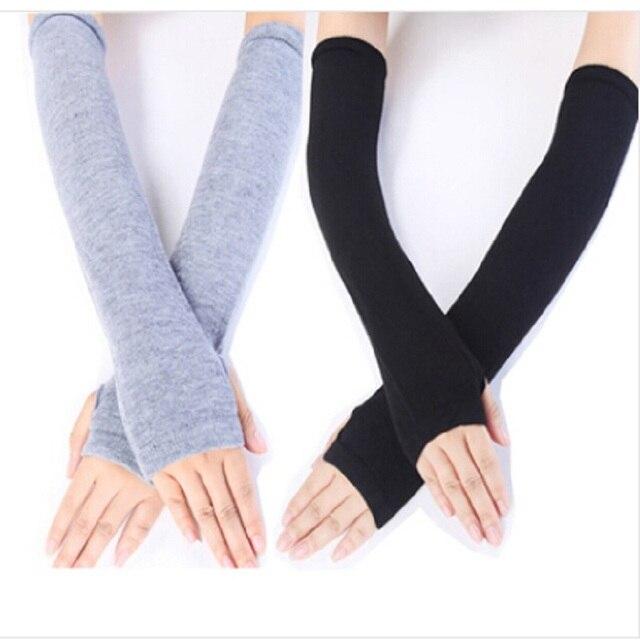 Free Shipping New Fashion Unisex Autumn/Winter Hand Arm Gloves ...