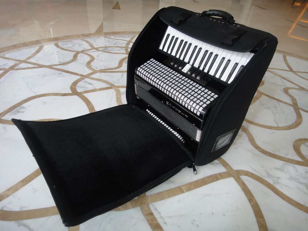 Professional Portable accordion bag for 120/96 Bass soft Gig case waterproof backpack echo piano box dulcimer package waterproof portable thicker porfessional accordion bag for 120 96 80 72 60 48 32 bass soft gig case backpack instrument package cover