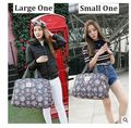 2016 brand Women Travel Luggage handbags Female Shoulder Bags travel Duffle Nylon Travel Tote Flower Waterproof bags Mommy Bag