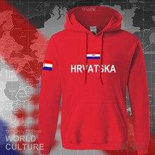 Sweat shirt croate Hrvatska, vêtement, streetwear, nouvelle collection sweat à capuche pour homme, équipe de sport de la nation croate, 2017 HRV