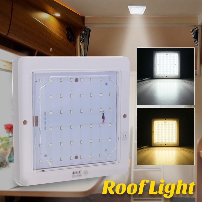 Home Interior Led Lights: 10W LED Roof Light For Motorhome Caravan For Camper