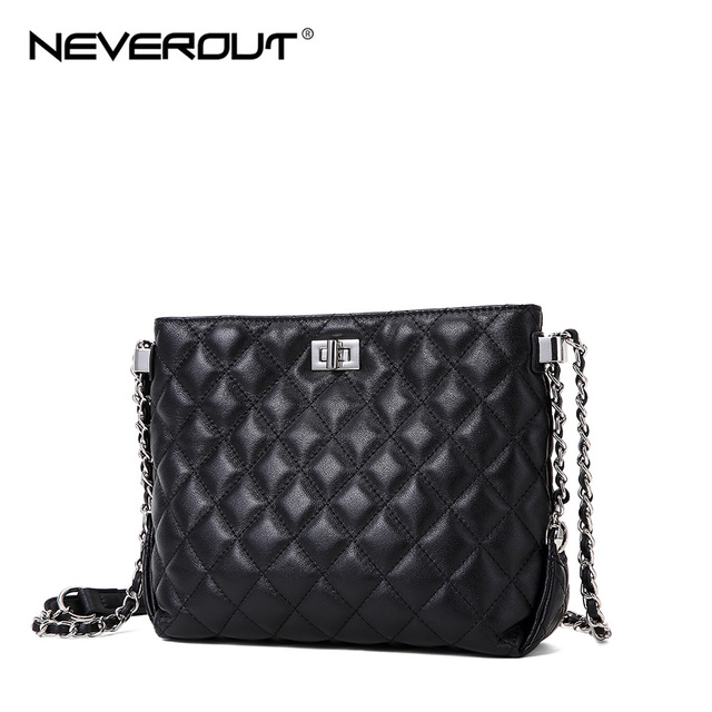 NEVEROUT Lattice Hobos Bags...