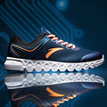 Anta smart shoes shoes 2017 new smart chip air damping light sports shoes men free shipping