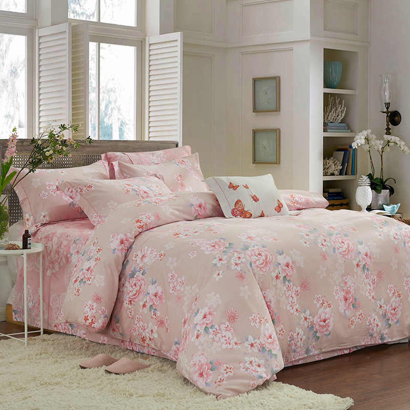 100% Cotton Queen King size Bedding set for Adults Bed set Duvet cover Fitted sheet Bed Sheet Soft Bedclothes parrure de lit100% Cotton Queen King size Bedding set for Adults Bed set Duvet cover Fitted sheet Bed Sheet Soft Bedclothes parrure de lit