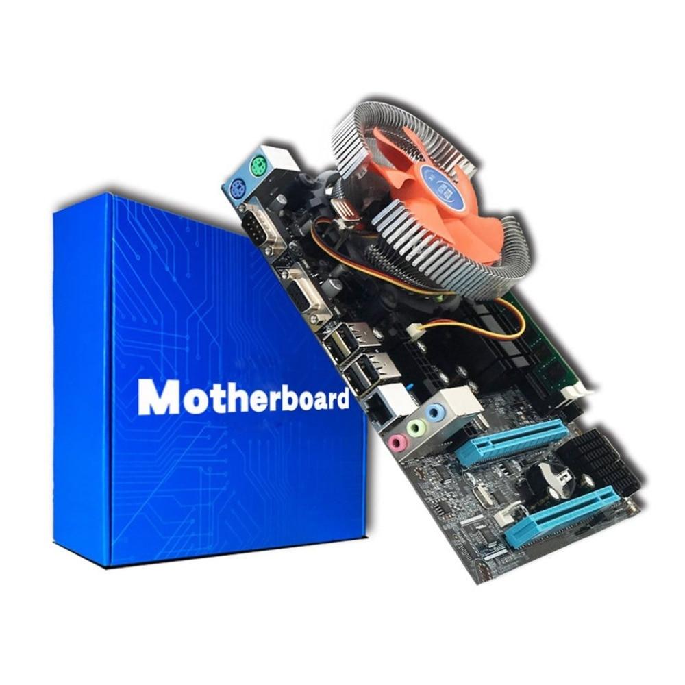 все цены на LGA775 Quad-core E5430 Combo Set 2.66G CPU + 4G Memory + Silent Fan Computer Modification Supplies G41 Desktop PC Main Board онлайн