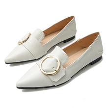 Women Flats Shoes Black Casual Leather For Office Work Boat Sweet Loafers Womens Classics YY0037