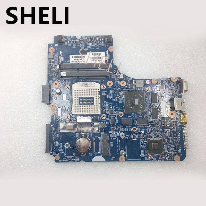 SHELI 734084-001  Motherboard For HP 450 48.4YW05.011 Laptop Motherboard tested 100% workSHELI 734084-001  Motherboard For HP 450 48.4YW05.011 Laptop Motherboard tested 100% work