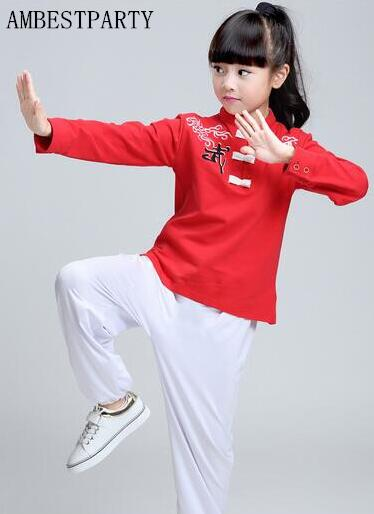 Hot children Performance clothes kungfu martial arts ...