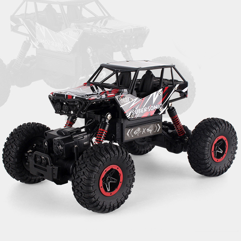 2.4G Rock Crawlers RC Car Toys 4WD Rock Climber Waterproof Remote Control Car Off-Road Vehicle Toy for Kids Model Vehicle Toys building rc car off road vehicle building toy bricks technic remote control toys for boys model car kids fun toy gift children