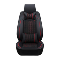 1Pec leather pu and cloth Car Seat Cover set for Tesla MODEL S X Auto Accessories Interior Decoration cars Styling Protector