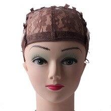 10 шт./лот парик шапки для изготовления париков с регулируемым ремешком чистая роза beige color бесплатная доставка 4 цвет(China (Mainland))