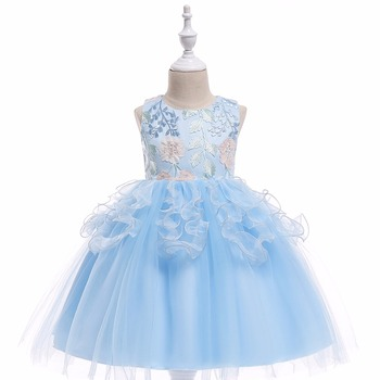 Tulle Flower Girl Dresses Knee Length Girls Pageant Dresses First Communion Dresses Wedding Party Dress 2018 flower girl dresses for weddings first communion dresses for girls tulle a line girls pageant dresses cute