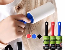 1PC Cleaning Brushes Dust Clothes Tumble Lint Rollers Washable Electrostatic Brush Cothes Sticky Hair Device LF 068