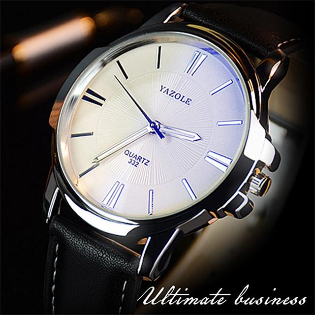2019 Wristwatch Male Clock Yazole Quartz Watch Men Top Brand Luxury Famous Wrist Watch Business Quartz-watch Relogio Masculino